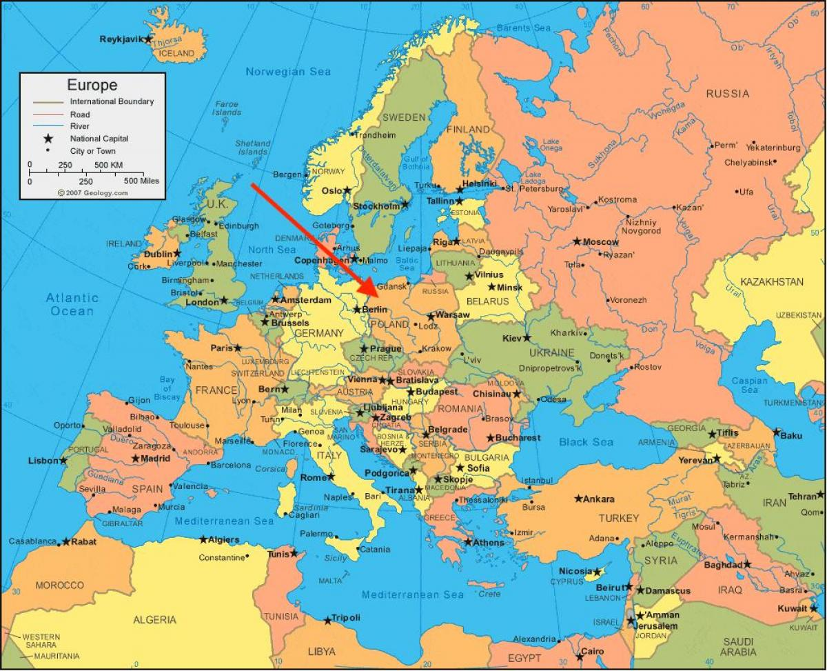 Poljska Mapa Superjoden